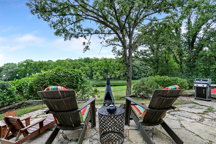 Real Estate Photography - 20730 W Exeter Rd, Kildeer, IL, 60047 - Patio