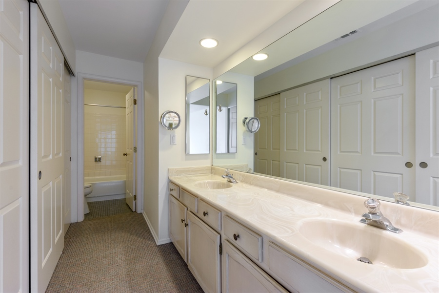 Real Estate Photography - 224 Winding Oak Ln, Buffalo Grove, IL, 60089 - Master Bathroom