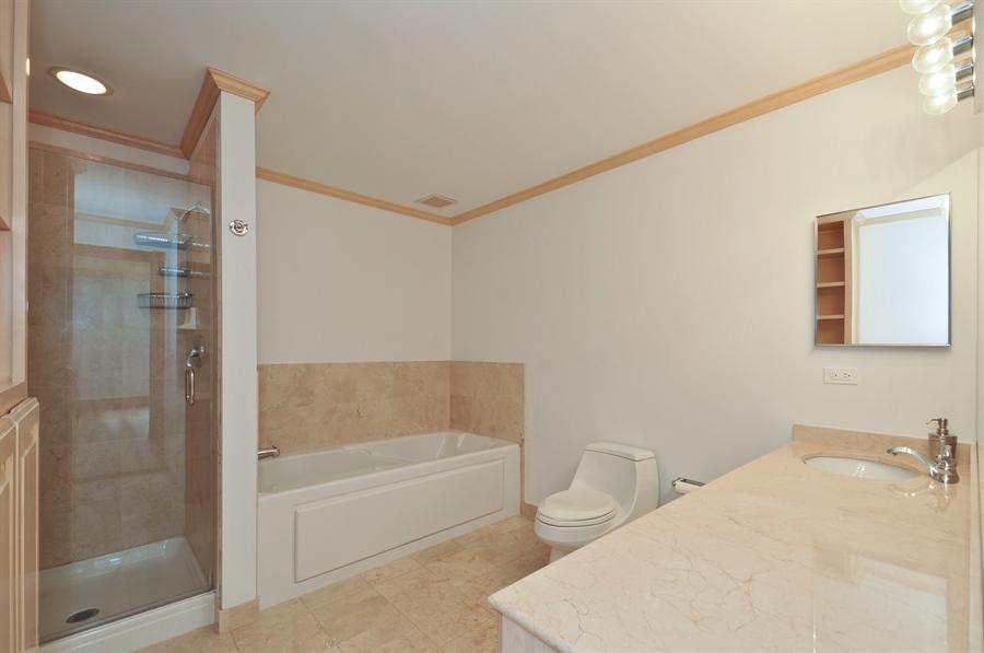 Real Estate Photography - 21 W Chestnut Street, unit 1102, Chicago, IL, 60610 - Master Bathroom