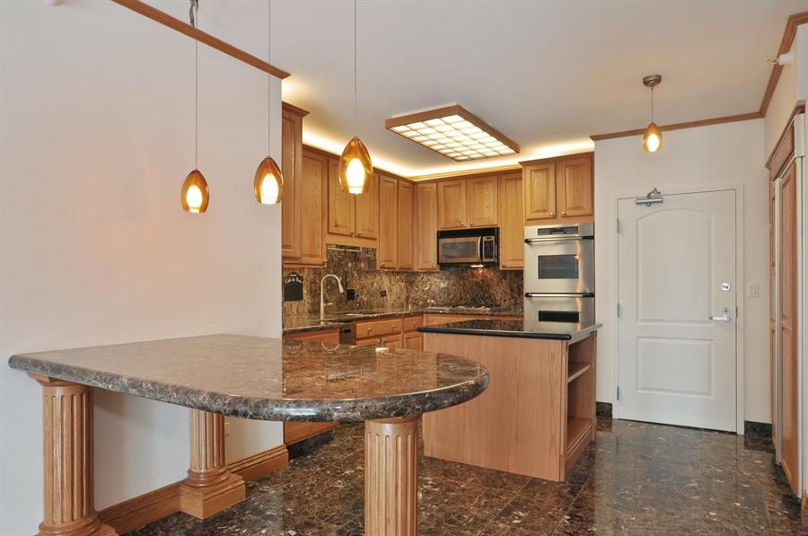 Real Estate Photography - 21 W Chestnut Street, unit 1102, Chicago, IL, 60610 - Kitchen