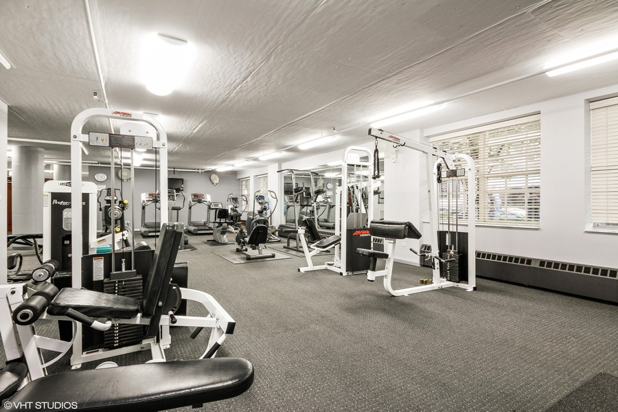 Real Estate Photography - 21 W Chestnut Street, unit 1102, Chicago, IL, 60610 - Fitness Room
