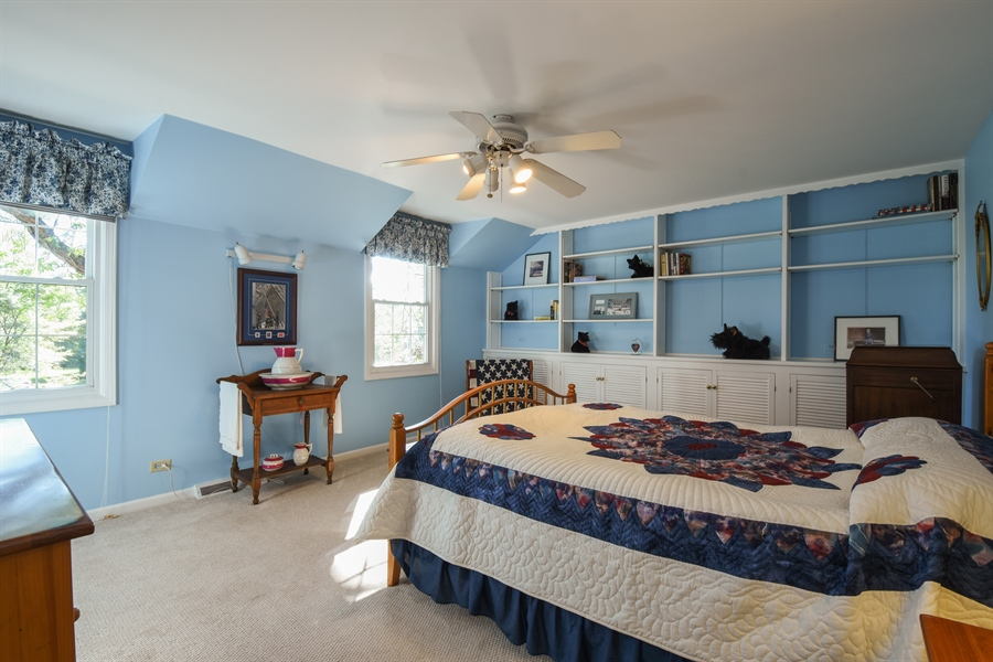 Real Estate Photography - 544 Rob Roy Court, Inverness, IL, 60067 - 2nd Bedroom
