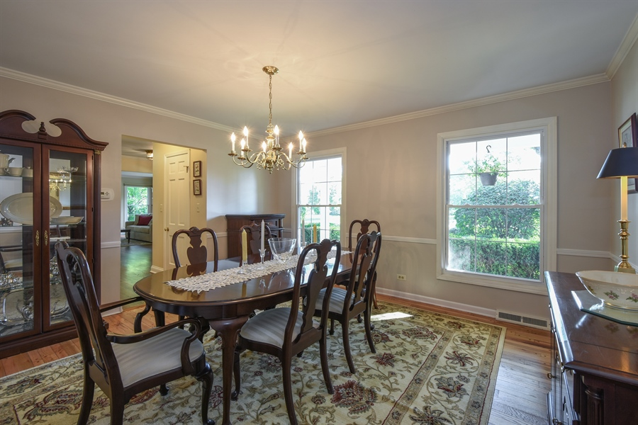 Real Estate Photography - 544 Rob Roy Court, Inverness, IL, 60067 - Dining Room