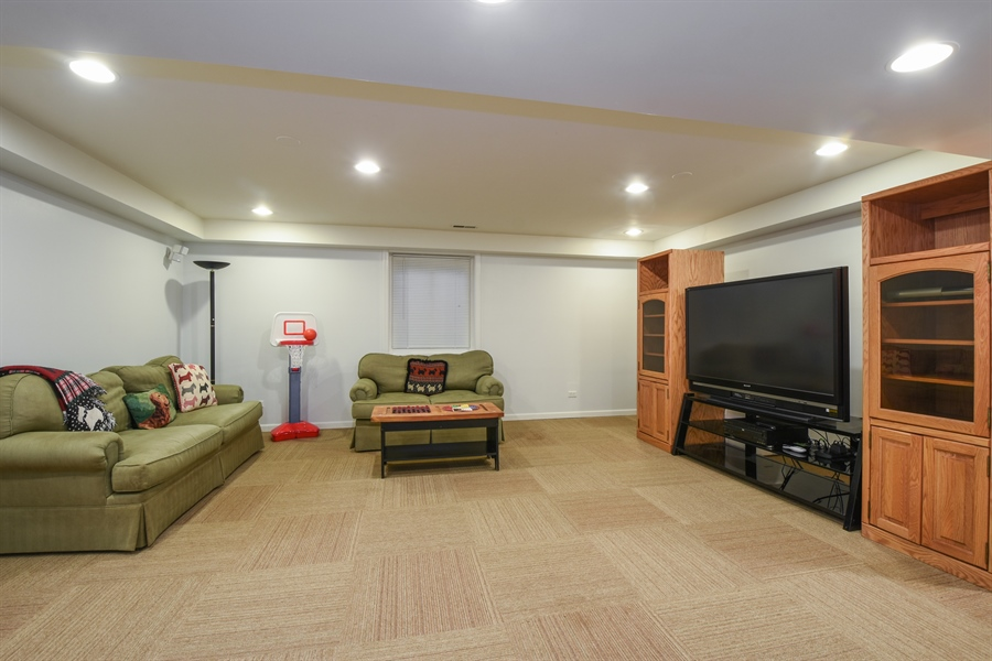 Real Estate Photography - 544 Rob Roy Court, Inverness, IL, 60067 - Basement