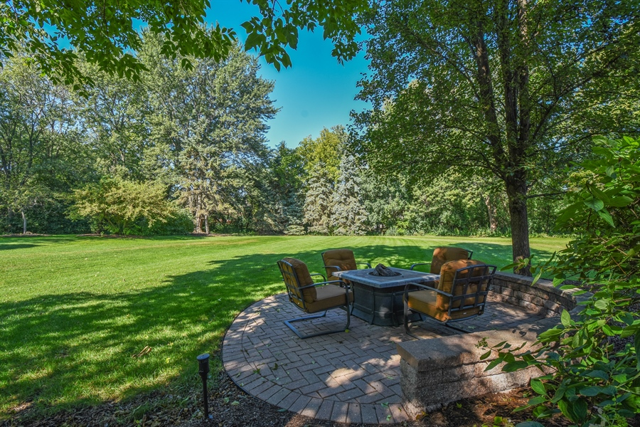 Real Estate Photography - 544 Rob Roy Court, Inverness, IL, 60067 - Back Yard