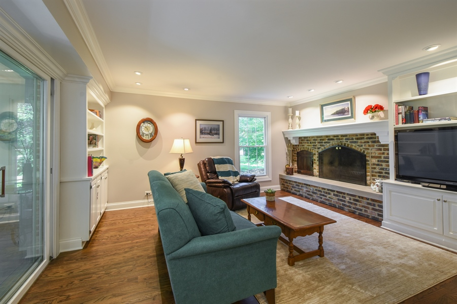 Real Estate Photography - 544 Rob Roy Court, Inverness, IL, 60067 - Family Room