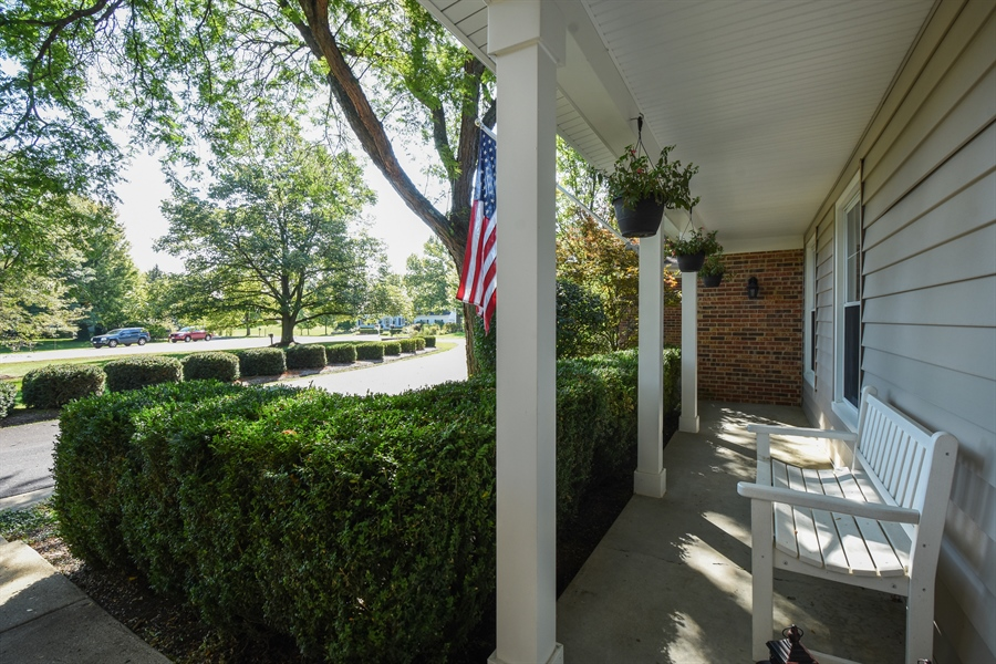 Real Estate Photography - 544 Rob Roy Court, Inverness, IL, 60067 - Porch
