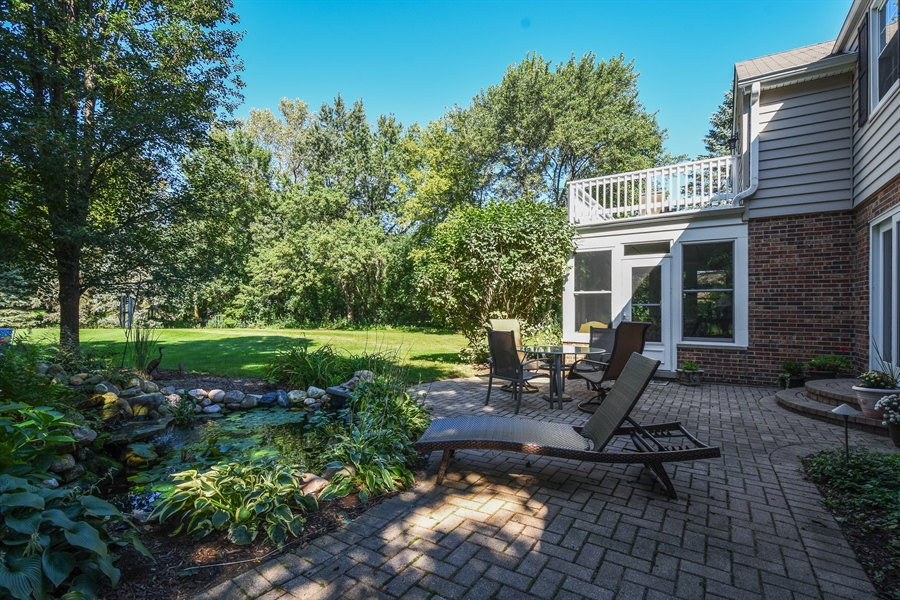 Real Estate Photography - 544 Rob Roy Court, Inverness, IL, 60067 - Patio