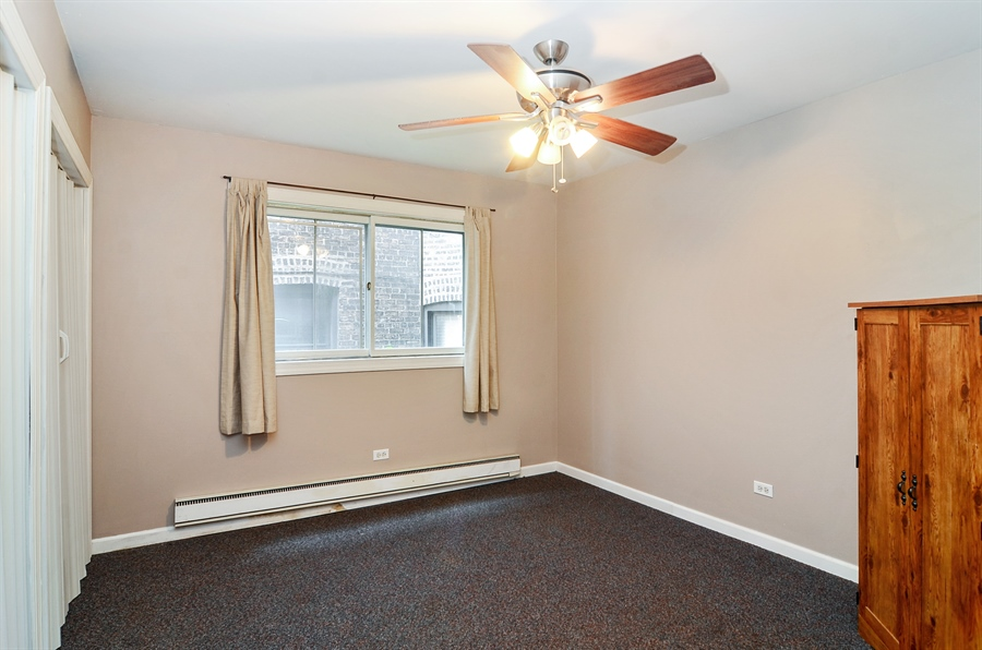 Real Estate Photography - 1510 Greenleaf, 2A, Chicago, IL, 60626 - 2nd Bedroom