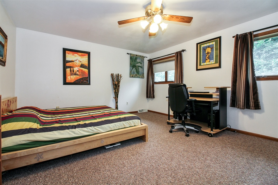 Real Estate Photography - 5754 HWY 11, A&B, Delavan, WI, 53115 - 2nd Bedroom