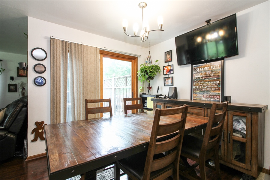 Real Estate Photography - 5754 HWY 11, A&B, Delavan, WI, 53115 - Dining Room