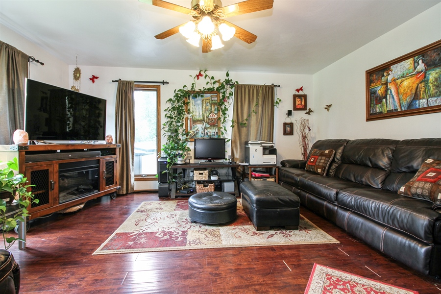 Real Estate Photography - 5754 HWY 11, A&B, Delavan, WI, 53115 - Family Room