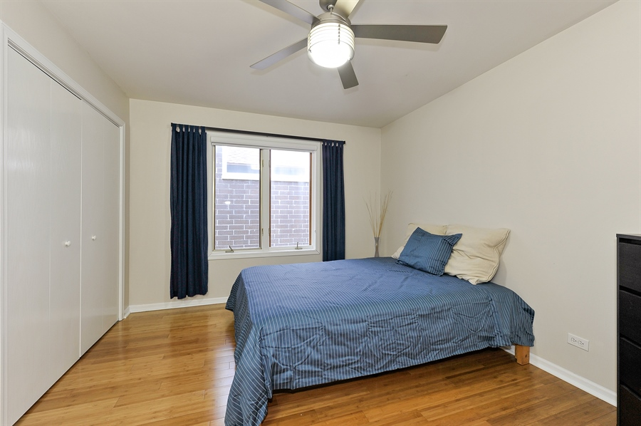 Real Estate Photography - 2334 W. McLean, Chicago, IL, 60647 - Third Bedroom