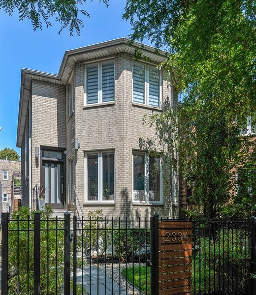 Real Estate Photography - 2334 W. McLean, Chicago, IL, 60647 - Front View