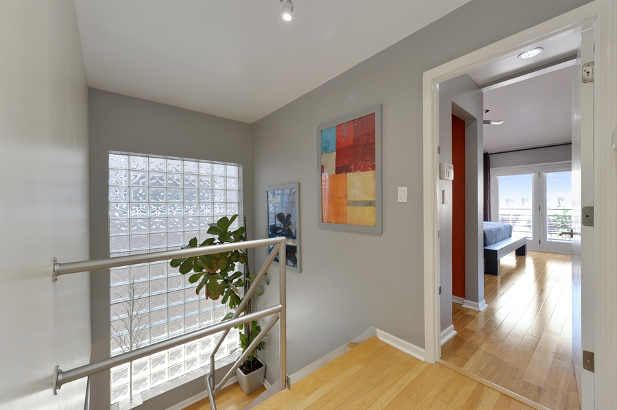 Real Estate Photography - 2334 W. McLean, Chicago, IL, 60647 - Staircase