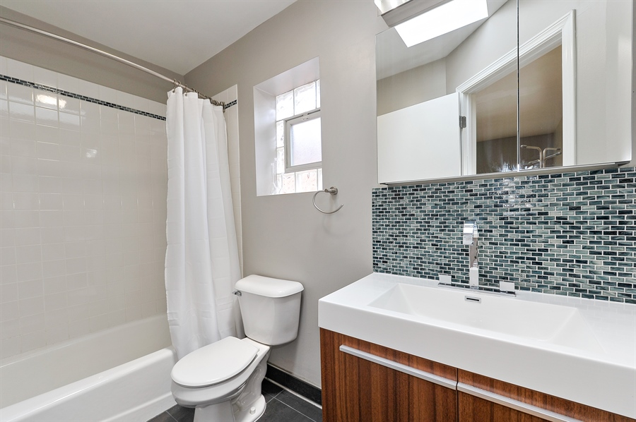 Real Estate Photography - 2334 W. McLean, Chicago, IL, 60647 - Second Bath