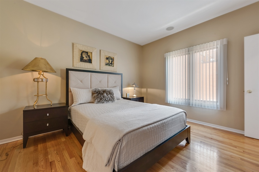 Real Estate Photography - 1445 N Cleveland, Unit A, Chicago, IL, 60610 - Master Bedroom