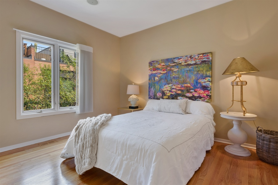 Real Estate Photography - 1445 N Cleveland, Unit A, Chicago, IL, 60610 - 2nd Bedroom