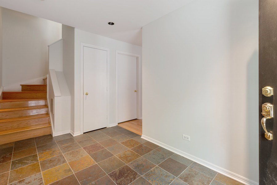 Real Estate Photography - 1445 N Cleveland, Unit A, Chicago, IL, 60610 - Foyer