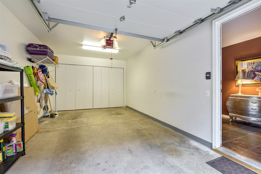 Real Estate Photography - 1445 N Cleveland, Unit A, Chicago, IL, 60610 - Garage