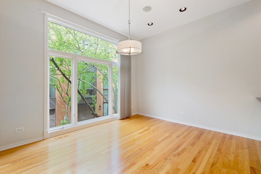 Real Estate Photography - 1445 N Cleveland, Unit A, Chicago, IL, 60610 - Dining Room