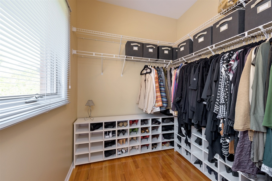 Real Estate Photography - 1445 N Cleveland, Unit A, Chicago, IL, 60610 - Master Bedroom Closet