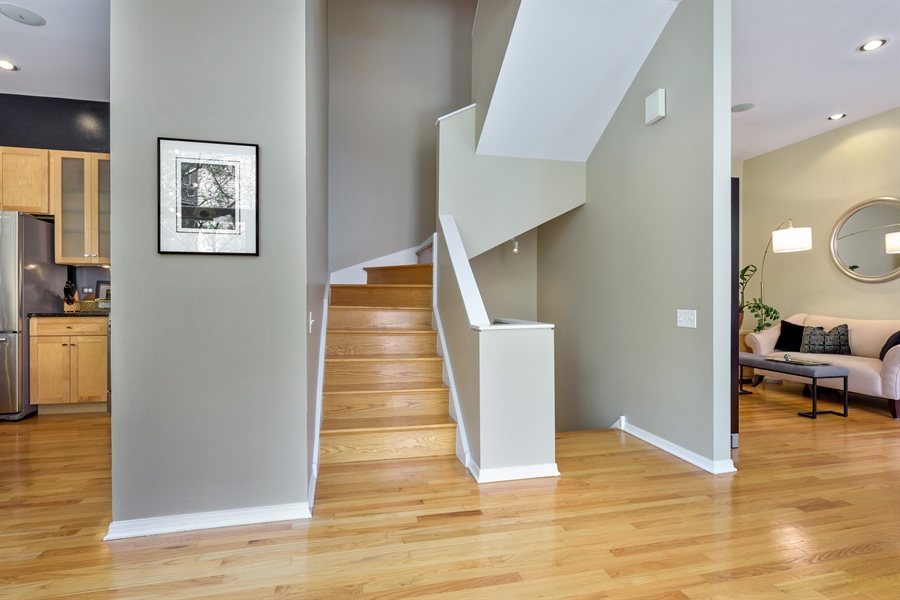 Real Estate Photography - 1445 N Cleveland, Unit A, Chicago, IL, 60610 - Entryway
