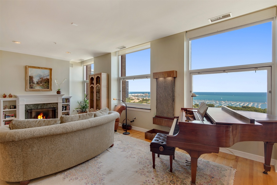 Real Estate Photography - 330 S Michigan Ave, Unit 1906, Chicago, IL, 60604 - View