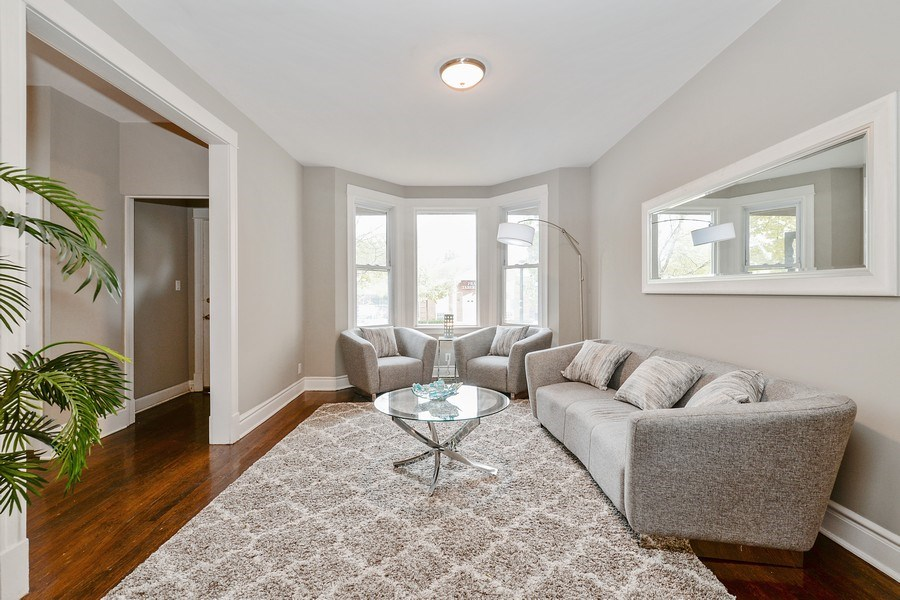 Real Estate Photography - 1753 W Devon, Chicago, IL, 60660 - Living Room