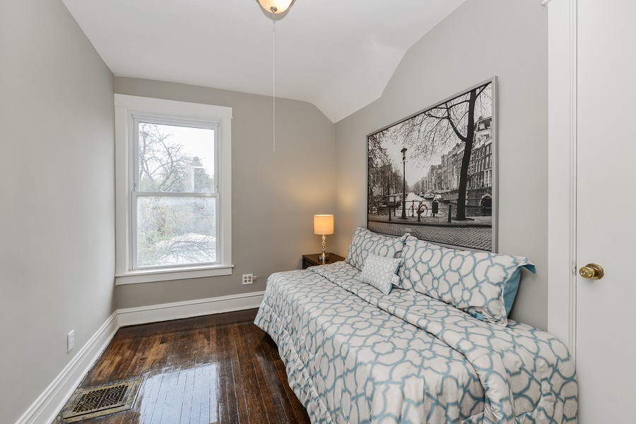 Real Estate Photography - 1753 W Devon, Chicago, IL, 60660 - 3rd Bedroom