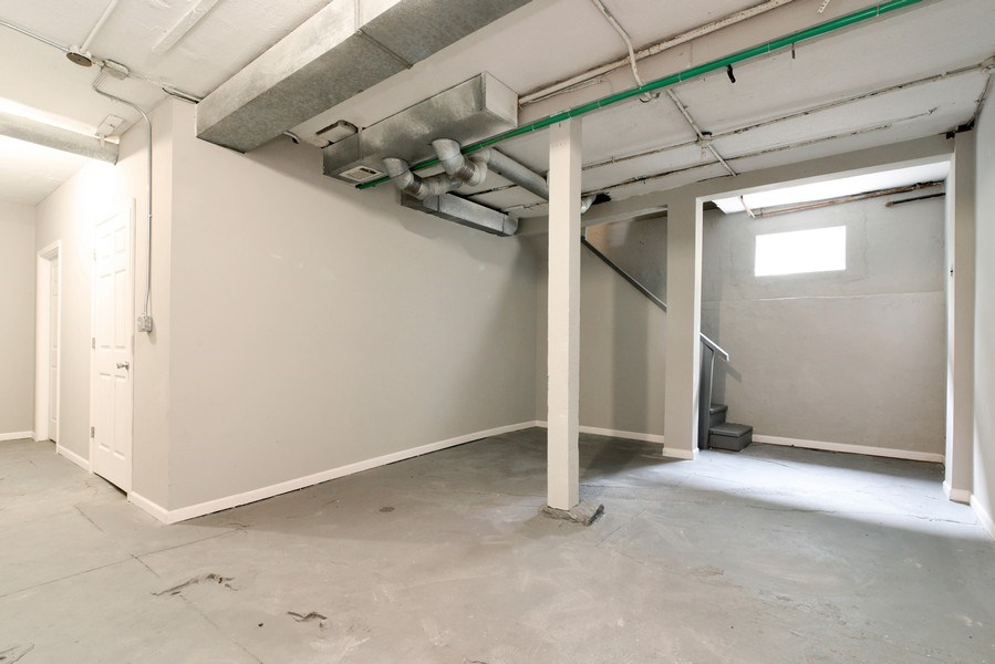 Real Estate Photography - 1753 W Devon, Chicago, IL, 60660 - Basement