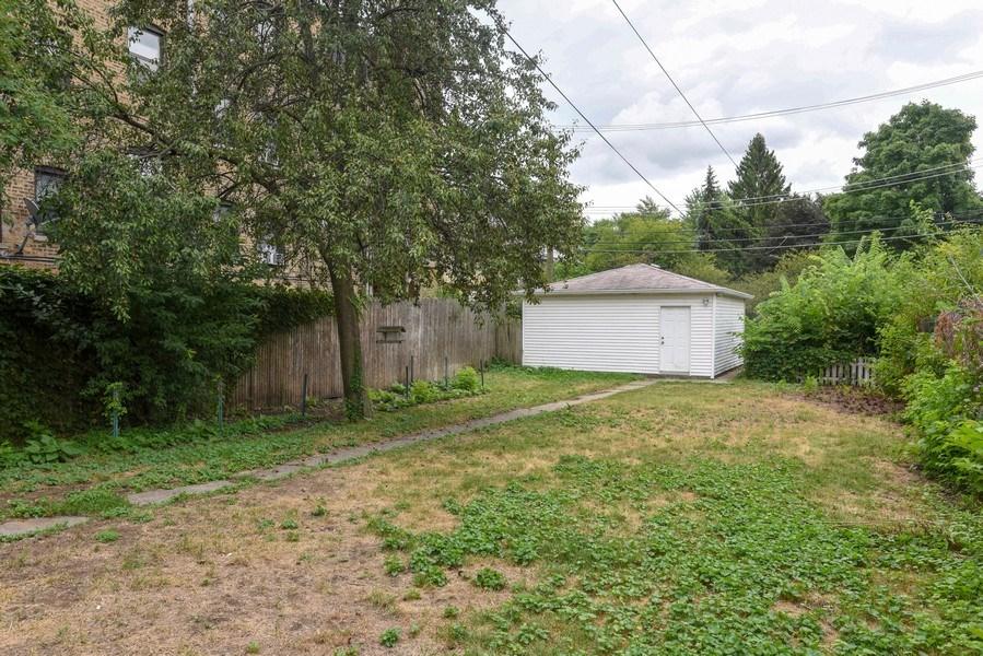 Real Estate Photography - 1753 W Devon, Chicago, IL, 60660 - Back Yard