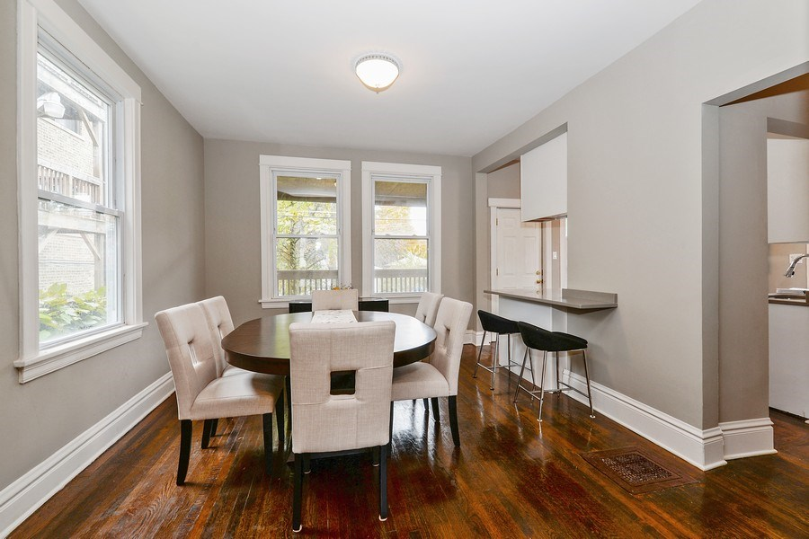 Real Estate Photography - 1753 W Devon, Chicago, IL, 60660 - Dining Room