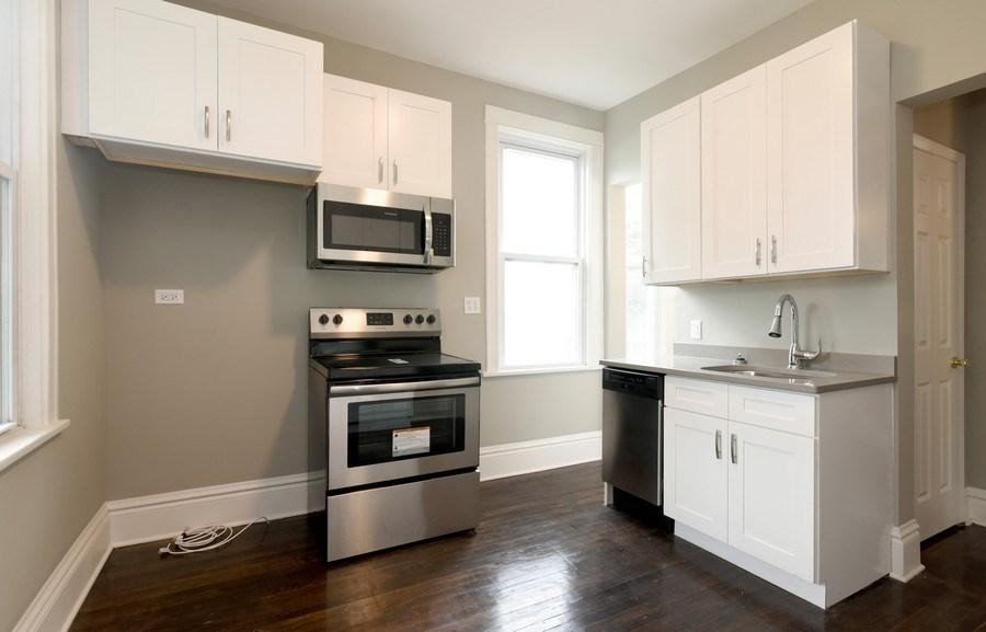 Real Estate Photography - 1753 W Devon, Chicago, IL, 60660 - Kitchen