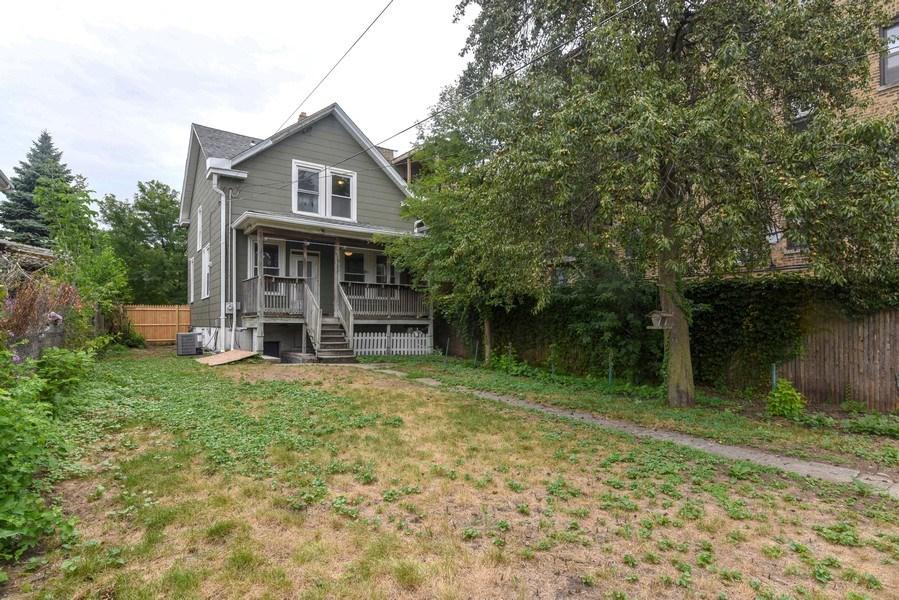 Real Estate Photography - 1753 W Devon, Chicago, IL, 60660 - Rear View