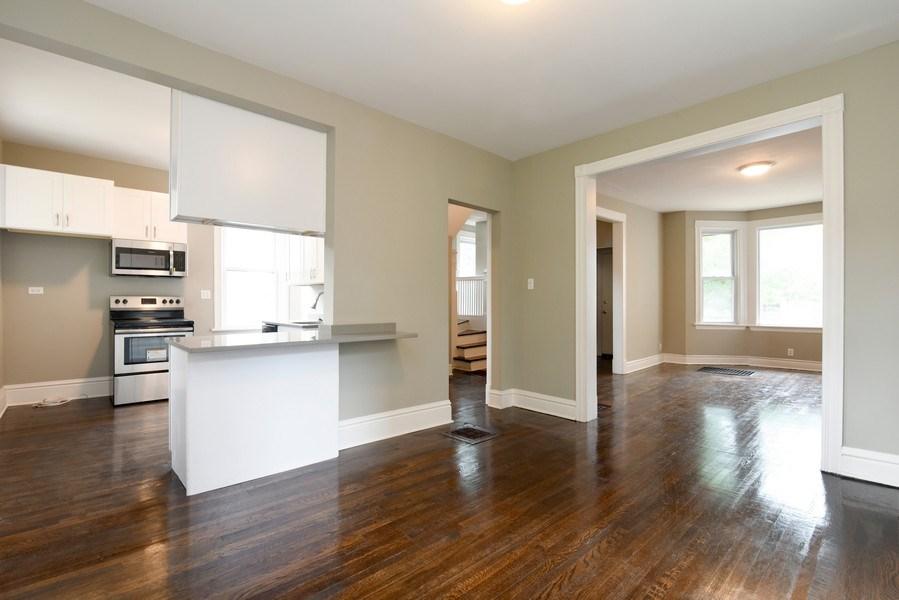 Real Estate Photography - 1753 W Devon, Chicago, IL, 60660 - Kitchen / Dining Room