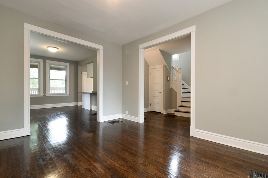 Real Estate Photography - 1753 W Devon, Chicago, IL, 60660 - Living Room / Dining Room
