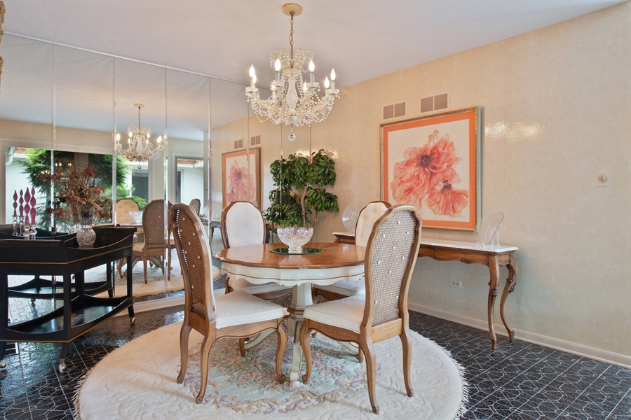 Real Estate Photography - 2381 El Cid Ln., Northbrook, IL, 60062 - Dining Room
