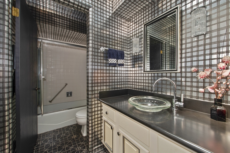 Real Estate Photography - 2381 El Cid Ln., Northbrook, IL, 60062 - 2nd Bathroom