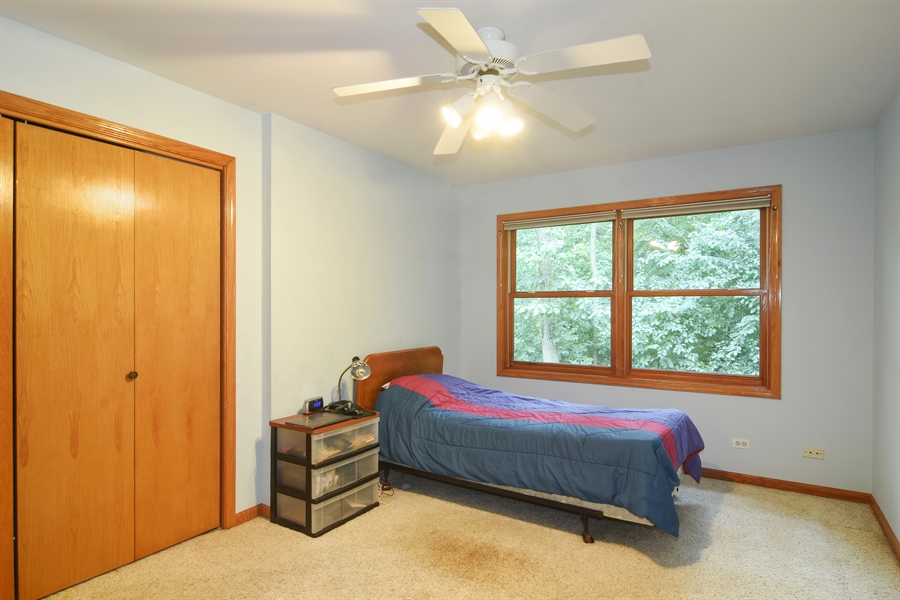 Real Estate Photography - 289 Lions Ct, Lake Zurich, IL, 60047 - 3rd Bedroom