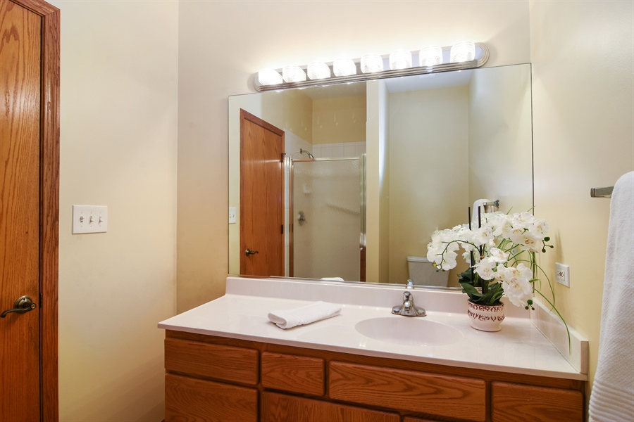 Real Estate Photography - 289 Lions Ct, Lake Zurich, IL, 60047 - 2nd Bathroom