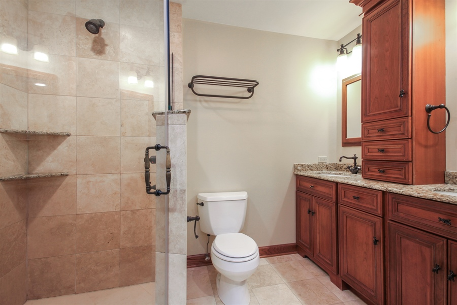 Real Estate Photography - 2028 N. Wolcott, Chicago, IL, 60614 - Master Bathroom