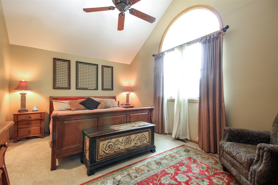 Real Estate Photography - 2028 N. Wolcott, Chicago, IL, 60614 - Master Bedroom