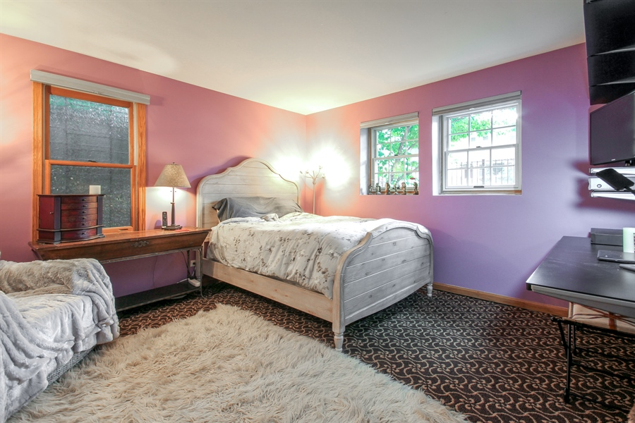 Real Estate Photography - 2028 N. Wolcott, Chicago, IL, 60614 - 3rd Bedroom