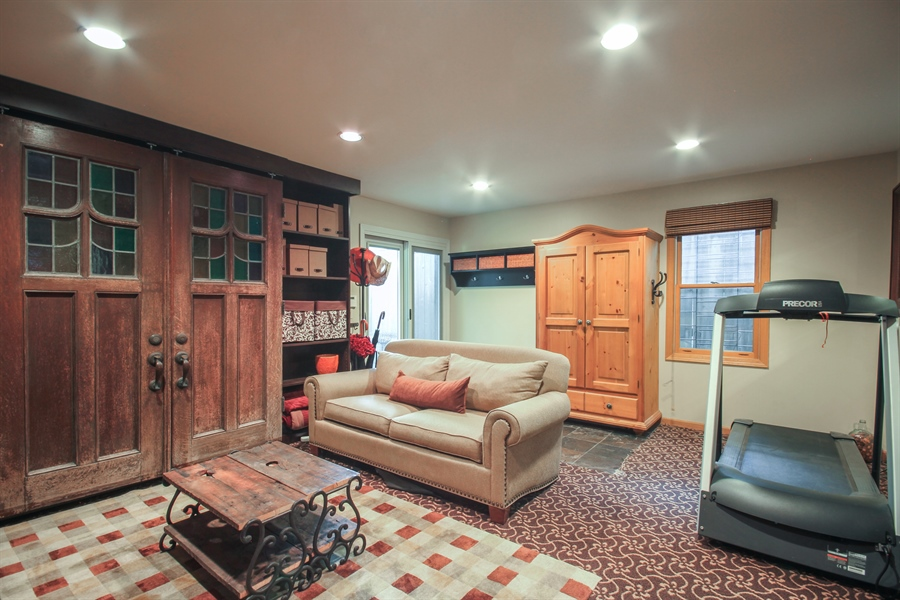 Real Estate Photography - 2028 N. Wolcott, Chicago, IL, 60614 - Lower Level