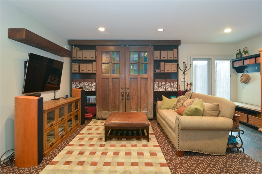 Real Estate Photography - 2028 N. Wolcott, Chicago, IL, 60614 - Family Room