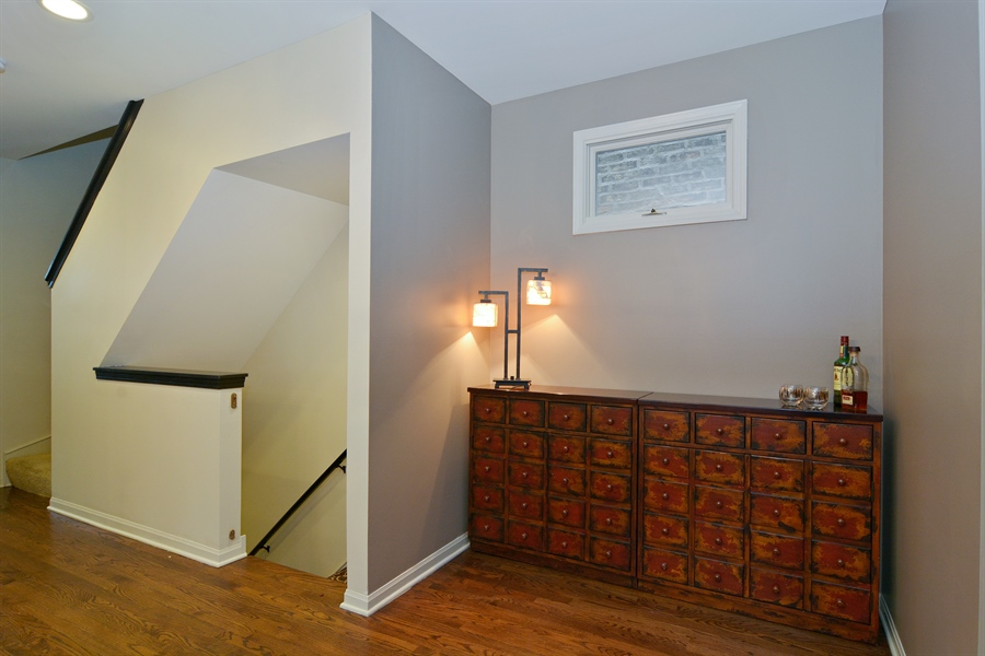 Real Estate Photography - 2028 N. Wolcott, Chicago, IL, 60614 - Dining Area