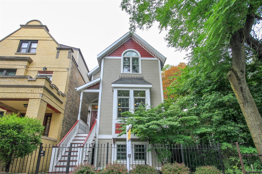 Real Estate Photography - 2028 N. Wolcott, Chicago, IL, 60614 - Front View