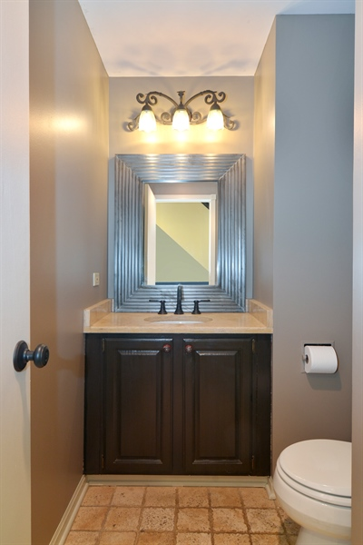 Real Estate Photography - 2028 N. Wolcott, Chicago, IL, 60614 - Half Bath
