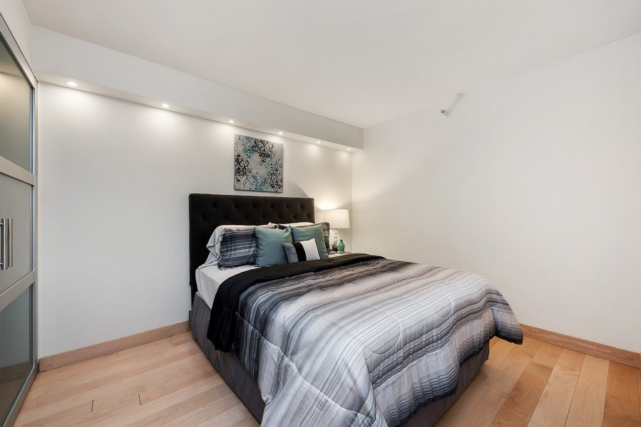 Real Estate Photography - 2 E Erie, 3005, Chicago, IL, 60611 - 3rd Bedroom